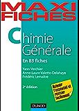 Maxi fiches de Chimie générale - 2e éd. : 83 fiches