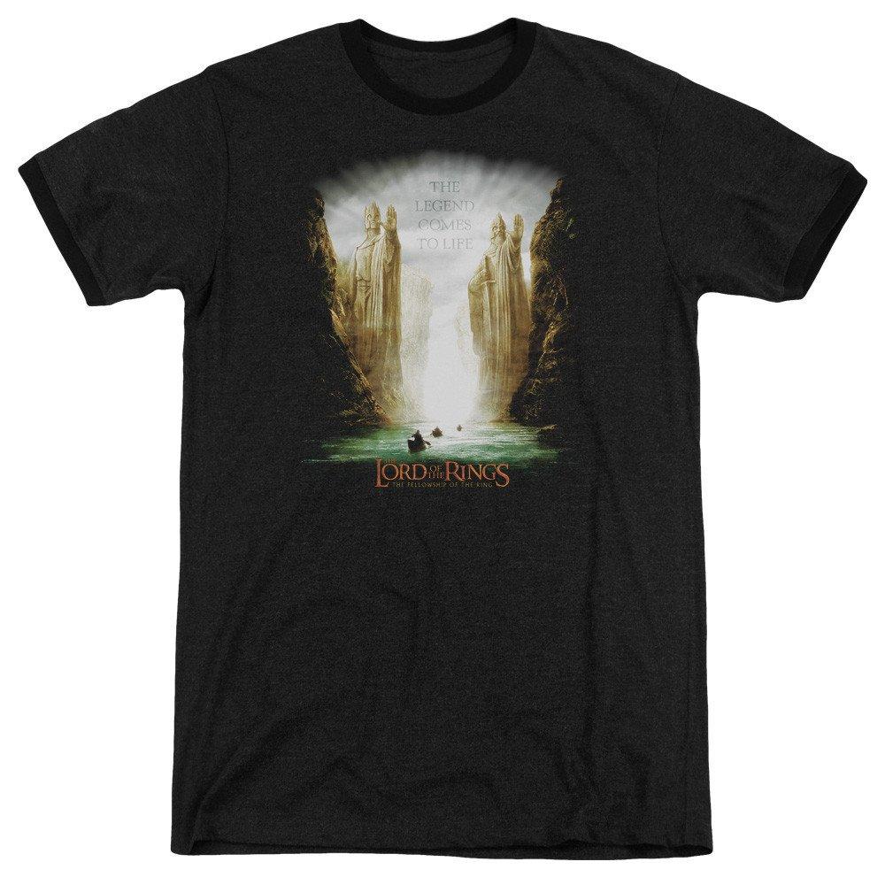 Kings of Old Adult Ringer T Shirt M Lor