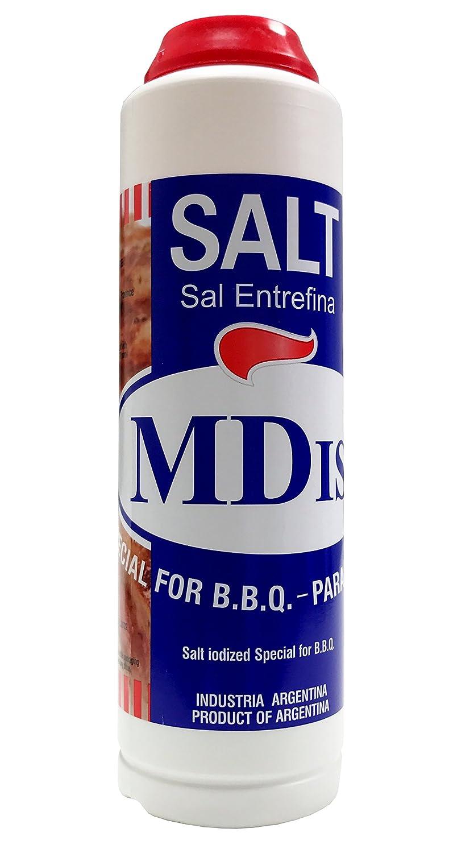 Amazon.com : MDist Inter Coarse Sea Salt, Ideal for BBQ ...