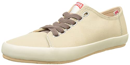 Camper Women's Borne Low-Top Sneakers, Beige (Light Beige 007), 3