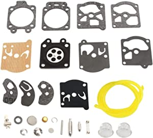 Shnile Carburetor Carb Repair Rebuild Kit Compatible with Poulan Micro XXV 1800 200 2300 Diaphragm Gasket Fuel Line