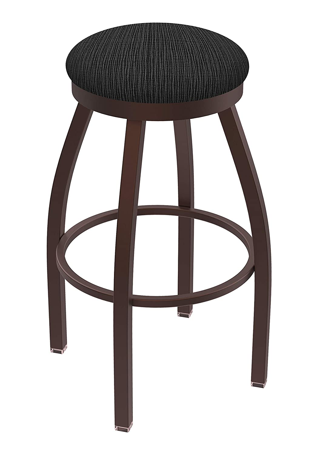Holland Bar Stool Co. 80225BZAxsTrf 802 Misha Counter Stool, 25 Seat Height, Graph Coal