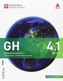 GH 4.1 y GH 4.2 Geografía e Historia , primera edición 2016 : 000001 GH 4.1 HISTORIA S.XIX GENERAL ESO AULA 3D: Amazon.es: Equipo Editorial: Libros
