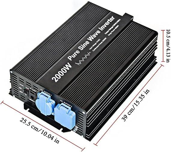 2000 Watt Pure Sine Wave Power Inverter 230 V Ac Elektronik
