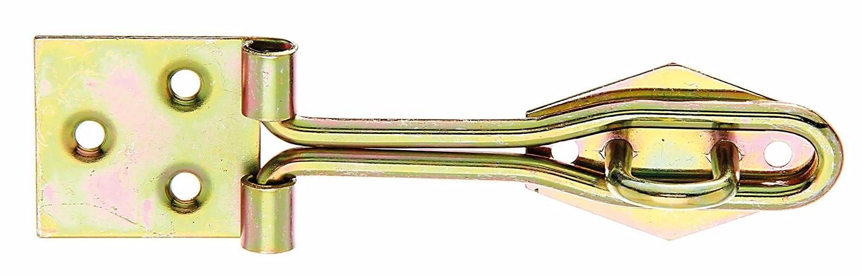 Riegel Türbeschlag Türriegel GAH Überfalle gelb verzinkt vorhängeschloss