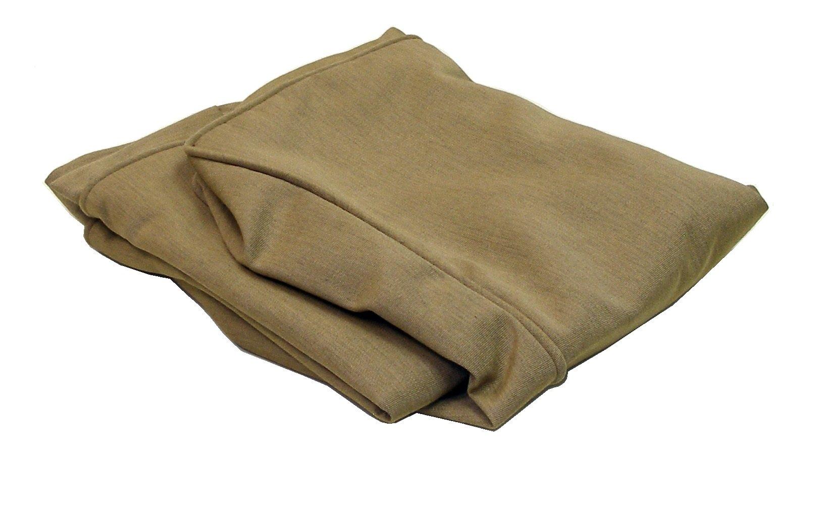 ATC Sunbrella Fabric Cushion Cover for Tatta Ottoman, Heather Beige by American Trading Company