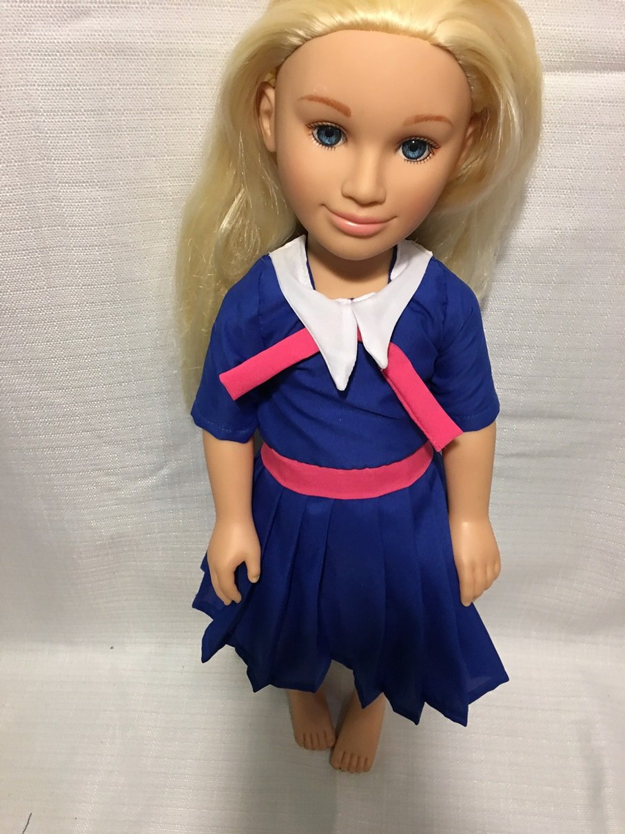 Fits Karito Kids Doll Clothes School or Sailor Dress Handmade Clothes Only