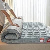 XFF Matelas de futon japonais épaississant de, Matelas de futon matelassé Dessus pliant de tatami de plancher-B 90X200Cm (35X79inch) / B / 120x190cm (47x75inch)