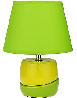 Tischleuchte Tischlampe Steinoptik Nachttischlampe Nachttischleuchte