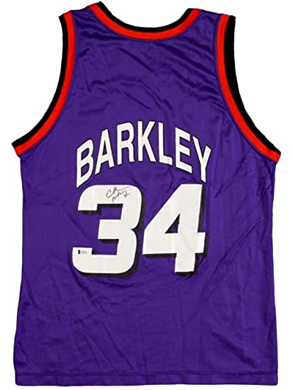 finest selection a80cc a3399 Charles Barkley Autographed Signed Phoenix Suns Champion ...
