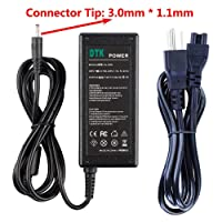 DTK Laptop Charger Notebook Ac Adapter Power Supply for Acer A13-045n2a PA-1650-80 PA-1450-26 Output: 19V 3.42A 65W Power Cord Connector: 3.0 x 1.1mm