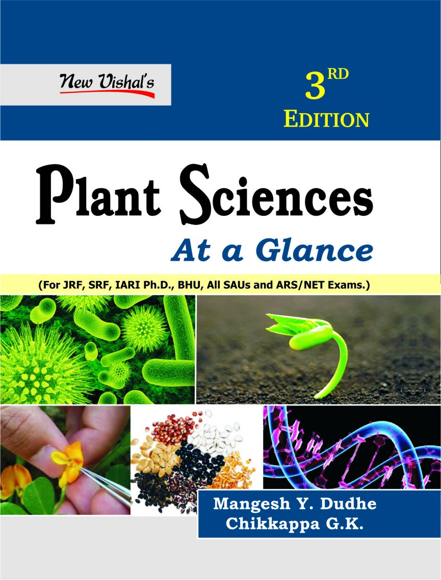Read Online Plant Science at a Glance for JRF SRF IARI Ph D BHU all SAUs and ARS NET Exams 3rd edn pdf epub