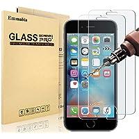 Emmabin - MaxTeck Verre Trempé pour iPhone 6S 6, Film Protection en Verre trempé Écran Protecteur Vitre- Anti Rayures - sans Bulles d'air -Ultra Résistant Dureté 9H - Compatible 3D Touch [3 Pièces]