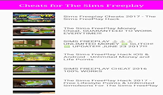 sims freeplay hack android apk 2017