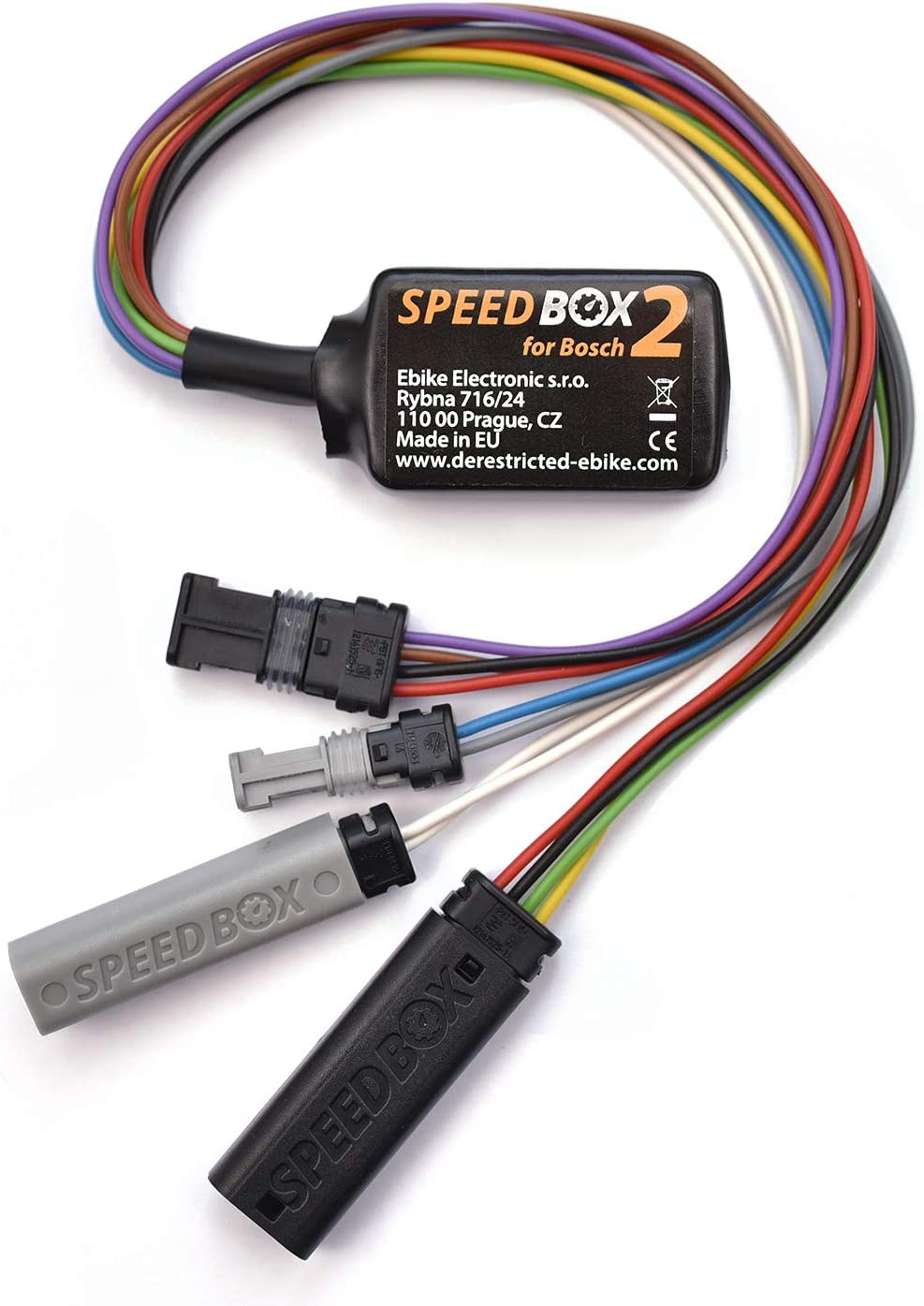 SPEEDBOX Módulo Tuning E-Bike Electronic 2, E Bike para Bosch Active, Performance, Linea cx