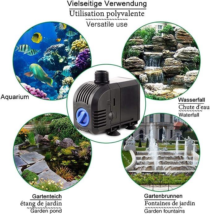 f/ür Aquarien Gartenteiche Springbrunnen-Spr/ühkopfsatz Corwar 9 Teile//Satz Springbrunnenpumpen-D/üsensatz Aquarien Teichpumpen-Satz mit Vorfilter und D/üsen Schwimmb/äder Various Occasions