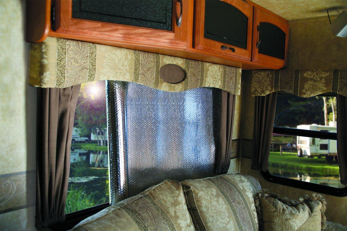 Camper window treatments - Amazon Com Camco 45164 62 X 30 Sunshield Reflective Window Cover Automotive