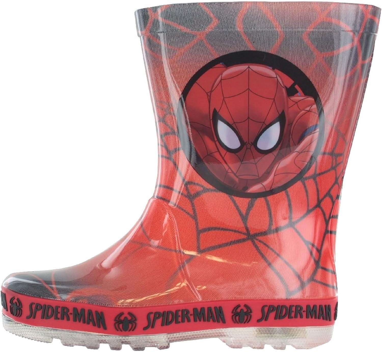 Toddler//Little Kid Spider-Man Boy Kids Wellington Boots Wellies Rain Boot