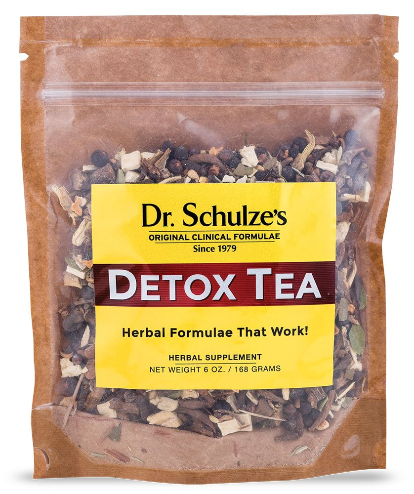 Dr. Schulze s Detox Tea All Purpose Herbal Tonic Powerful Digestive Stimulant Dietary Supplement Ultimate Liver Cleanse Eliminates Gas Indigestion Release Toxins 6 Oz. Pack
