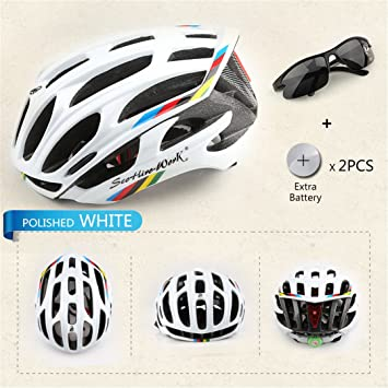helmett Bicycle Helmet Integrally-Molded Cycling Road Mountain Mtb Casco Ciclismo Ultralight Bike With Led
