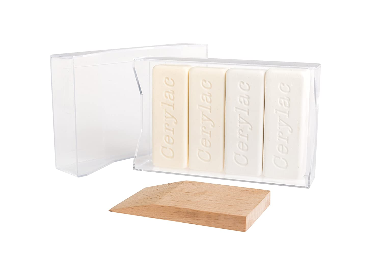 Cire molle, nuances de blancs - 4 Unité s nuances de blancs - 4 Unités Cerylac