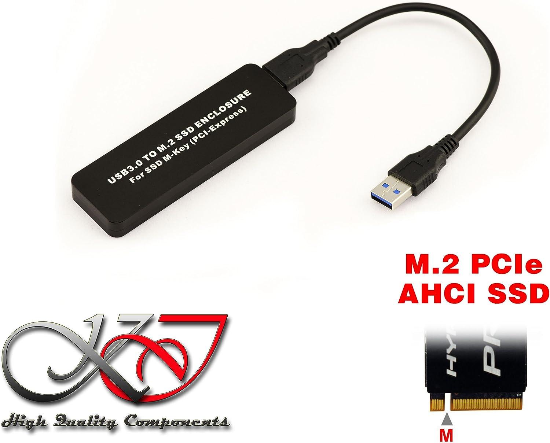 Kalea-Informatique© – Caja de aluminio USB 3.0 para SSD M.2 NGFF ...