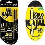 Maybelline New York Colossal Kajal, Super Black