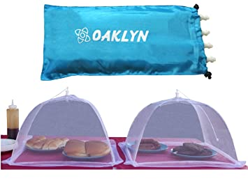 (4pk) 16 inch Collapsible Mesh Food Cover Tent Umbrella Set with Storage Bag -  sc 1 st  Amazon.com & Amazon.com: (4pk) 16 inch Collapsible Mesh Food Cover Tent ...