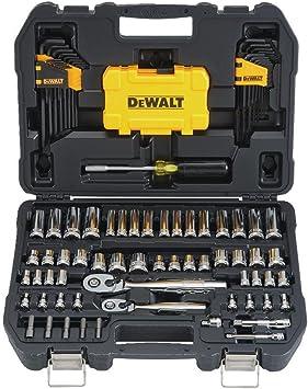 72-tooth Gear Sockets Wrenches Hex Key 142-Piece DEWALT Mechanics Tools Kit Set