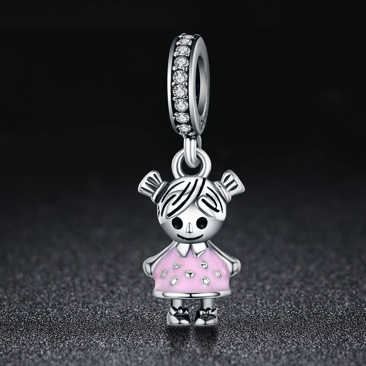 My Little Boys Charms 925 Sterling Silver Boys Beads Charms Mom Family Charms for Charm Bracelets