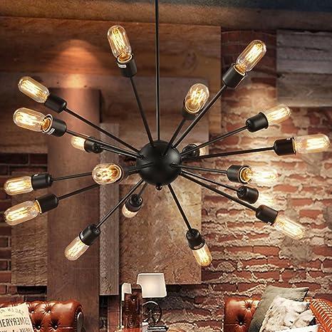 Moderna Lámpara colgante Retro Industrial Creative erizo ...