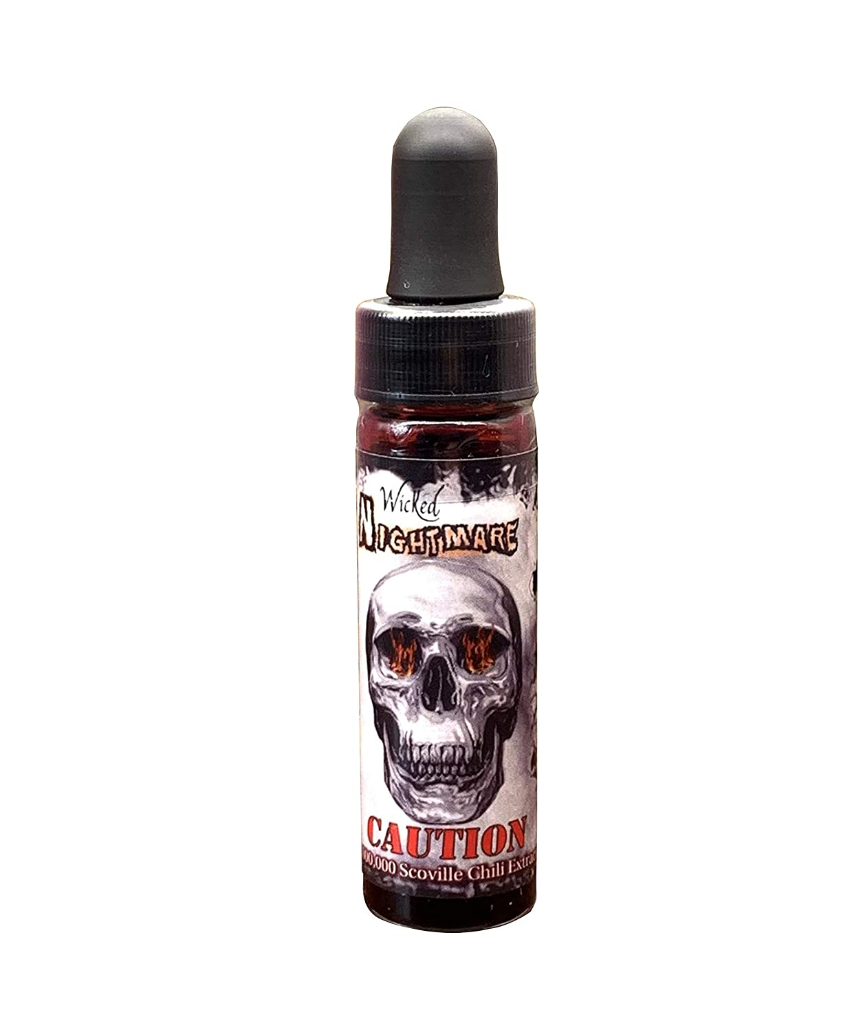 Wicked Nightmare Extract Hot Sauce Hotter Than Reaper Ghost Pepper Scorpion