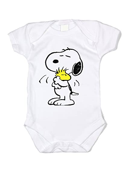 e88003f61 Amazon.com: Peanuts Snoopy Classic By Unisex Baby Bodysuit: Clothing