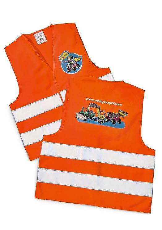 RollyToys rollySafety vest (für Jungen und Mädchen, Einheitsgröße, Reflektoren) 558698