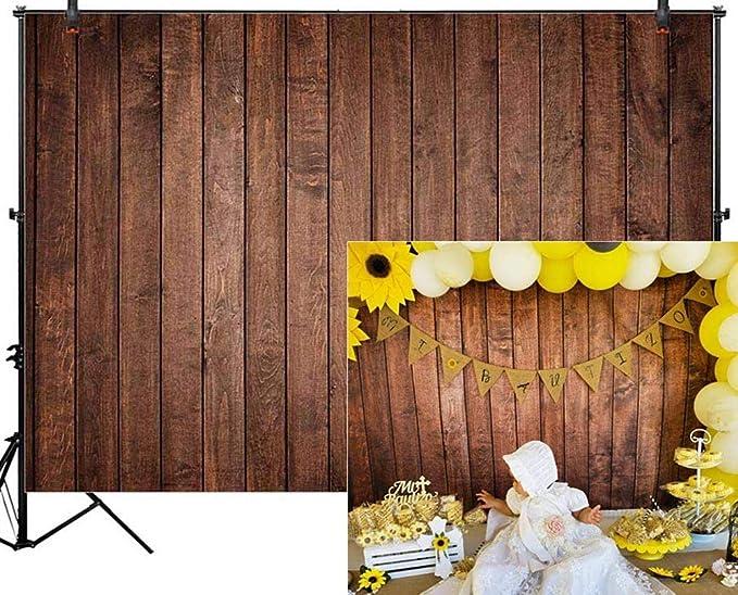 Bronze Wooden Boards Wedding Baby Photography Background Custom Photography Studio Photography Background