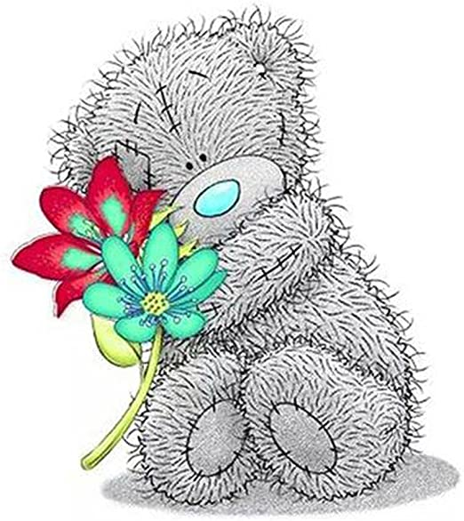 Full Drill 5D DIY Cute Bear Diamond Painting Embroidery Cross Stitch Kits Craft