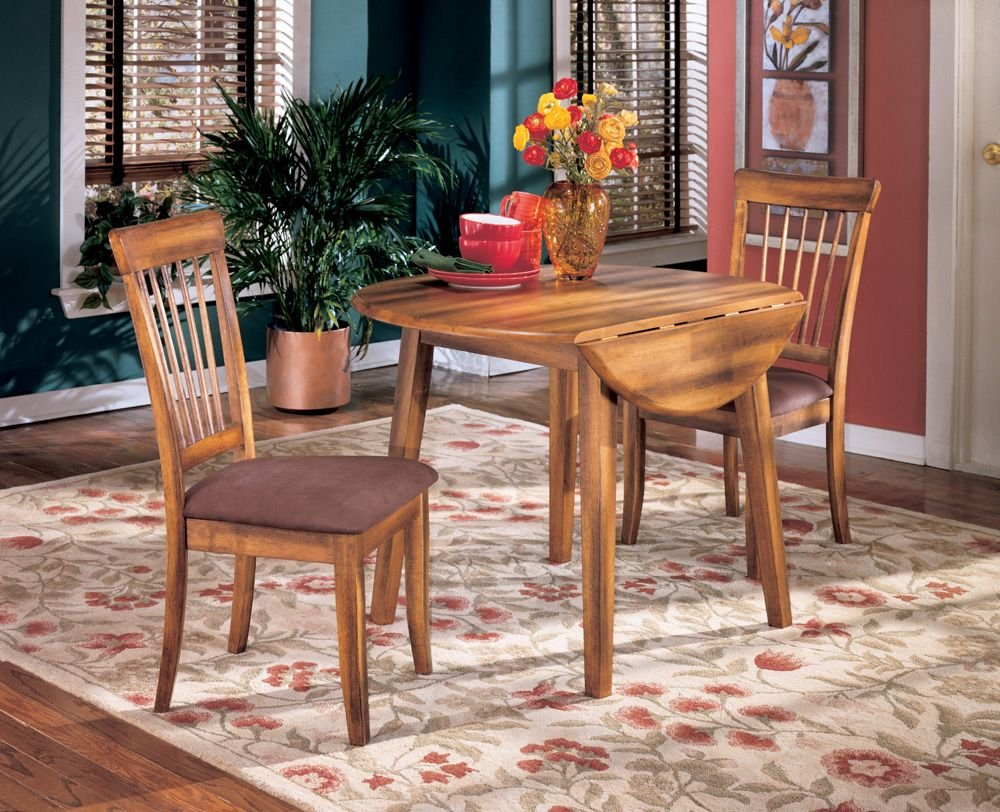 Hickory Dining Room Table Amazoncom Cottage Style Hickory Stain Berringer Dining Room