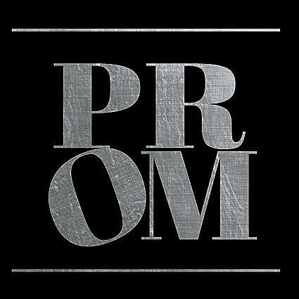 Amazoncom Prom Solid Silver Square Sticker