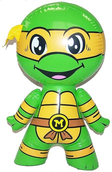 Michelangleo Teenage Mutant Ninja Turtle Blow up 24 in TOY Inflatable