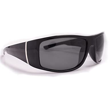 8c8d9afd11f Image Unavailable. Image not available for. Color  Polarized Men s Driving Sport  Wrap Around Sunglasses ...