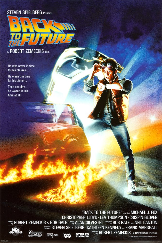 Back to the Future One Sheet Movie Poster 24x36 Inch