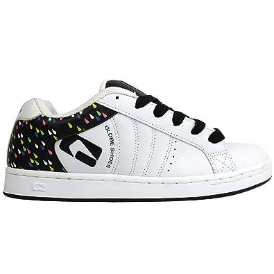 Skatebord Womens Shoes White/Black/Rain