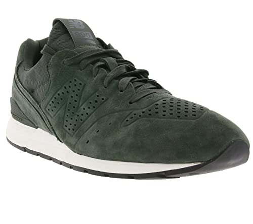 New Balance Men s 996 Men s Leather Khaki Sneakers in Size 44 EU   9.5 ... b88f26ca9