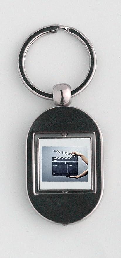 Llavero, diseño de claqueta: Amazon.es: Hogar