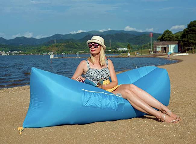 Hikenture 2nd Generation Inflatable Lounger Hangout