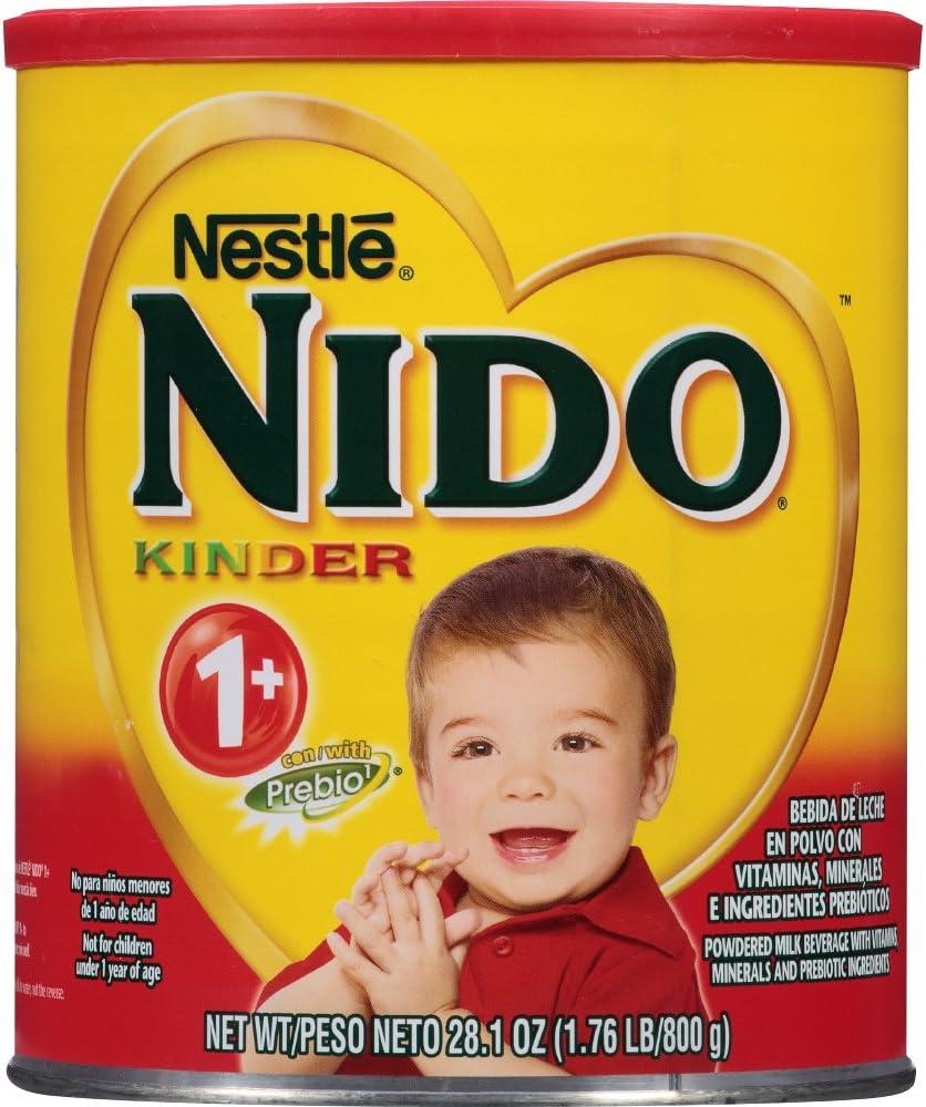 NESTLE NIDO Kinder 1+ Powdered Milk Beverage 1.76 lb. Canister