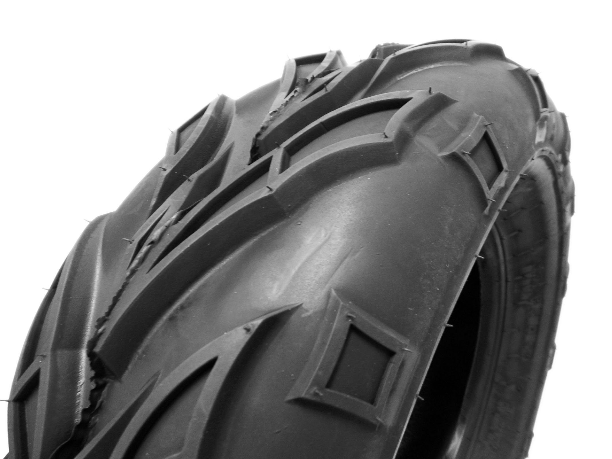 SET OF TWO: ATV Tubeless Tire 21x7-10 (175/80-10) Front or Rear All Terrain ATV UTV Go Kart - P133 by MMG (Image #4)