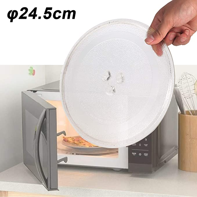 Allright - Plato giratorio de repuesto para microondas (24,5 cm ...