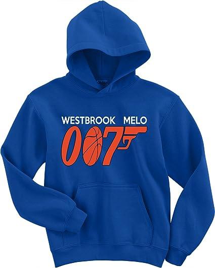 "a038fbe423a The Silo Blue Oklahoma City Melo Westbrook 007"" Hooded Sweatshirt Adult"
