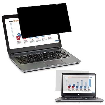 Yivin - Filtro de Privacidad Protector de Pantalla, Antideslumbrante filtrar para 15.6 Pulgadas computadora de